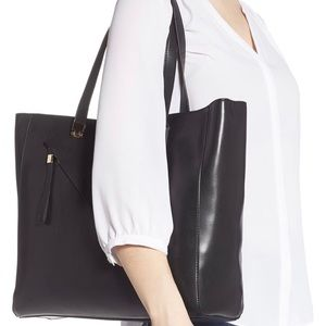 Sole Society Nycky Tote in Black